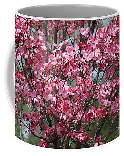 Enchanted Pink Dogwood Tree Coffee Mug