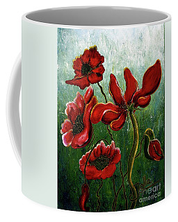 Endless Poppy Love Coffee Mug