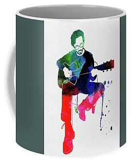 Eric Clapton Watercolor Coffee Mug
