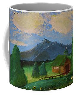 Esterbrook Chapel, Wyoming Coffee Mug