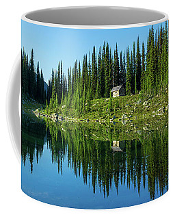 Eva Lake Cabin Coffee Mug
