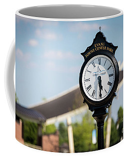 Evans Towne Center Park Clock - Evans Ga Coffee Mug