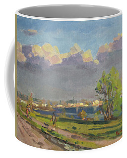 Evening At Gratwick Waterfront Park Coffee Mug