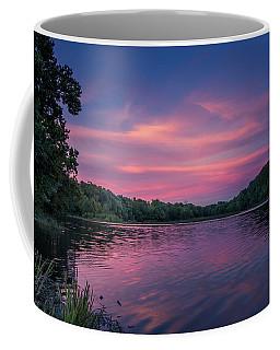 Evening At Springfield Lake Coffee Mug