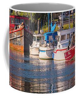 Evening At The Harbor Coffee Mug