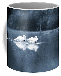 Coffee Mug featuring the photograph Evening Bath by Jaroslav Buna