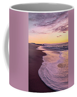 Coffee Mug featuring the photograph Evening On Gleneden Beach by Whitney Goodey