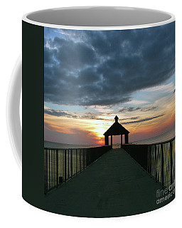 Coffee Mug featuring the photograph Evening Peace by Rosanne Licciardi