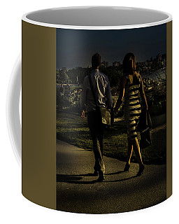Evening Walk Coffee Mug