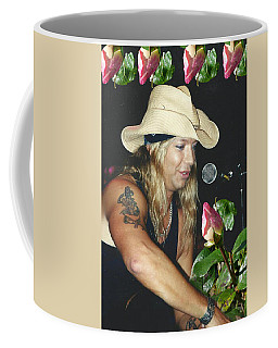 Coffee Mug featuring the photograph Every Rose Has Its Thorn by Alison Frank