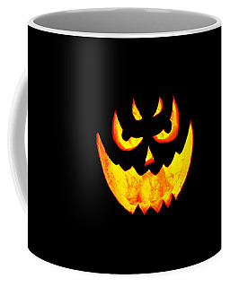 Evil Glowing Pumpkin Coffee Mug