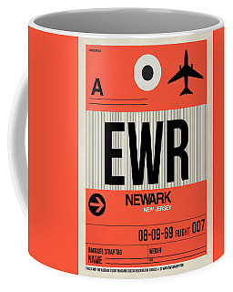 Ewr Newark Luggage Tag I Coffee Mug