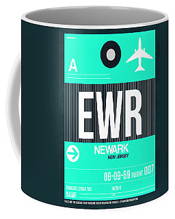 Ewr Newark Luggage Tag II Coffee Mug