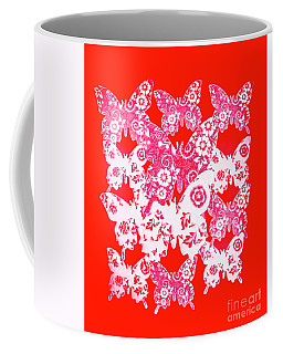 Exotic Red Wings Coffee Mug