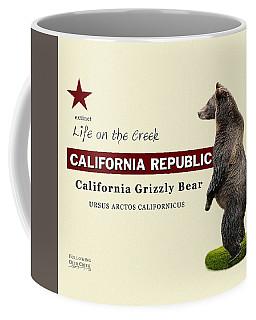 Extinct California Grizzly Bear Coffee Mug