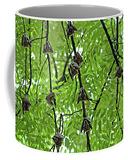 Coffee Mug featuring the photograph Eyes Watching by Mark Duehmig