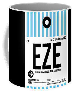 Eze Buenos Aires Luggage Tag I Coffee Mug