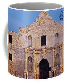 Facade Of A Church, Alamo, San Antonio Coffee Mug