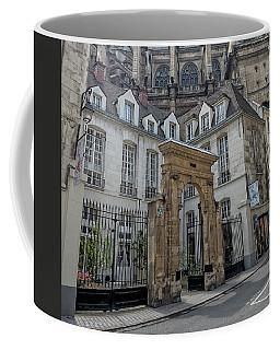 Facade On Rue Des Rosiers Coffee Mug
