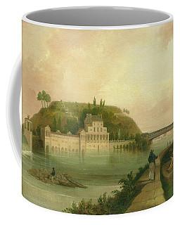 Fairmount Waterworks About 1838 Coffee Mug