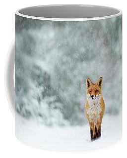 Fairytale Fox Series - Fox In A Blizzard Coffee Mug