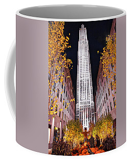 Fall At Rockefeller Center Coffee Mug