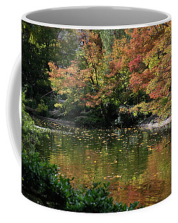 Fall At The Japanese Garden Coffee Mug