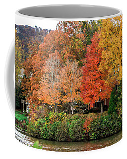 Fall At The Lake Coffee Mug