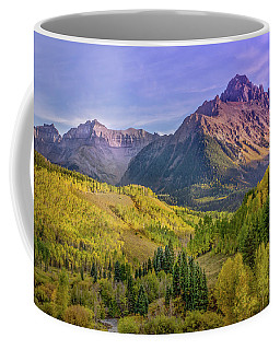 Fall Color In The San Juan Mountains Coffee Mug
