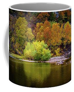 Fall Colors Of The Ozarks Coffee Mug