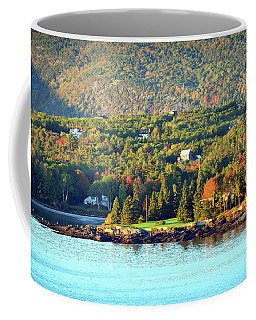 Coffee Mug featuring the photograph Fall Foliage In Bar Harbor by Bill Swartwout Fine Art Photography
