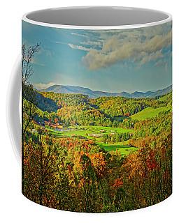 Fall Porch View Coffee Mug