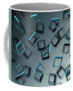 Falling Blue Coffee Mug