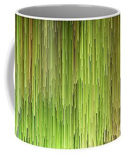 Falling Green Coffee Mug