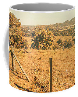 Farm Fields Of Eumundi, Sunshine Coast Coffee Mug