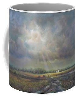 Farm In Spring Coffee Mug