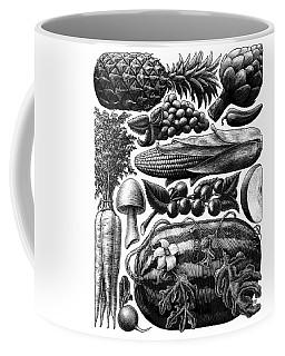 Farmer's Market - Bw Coffee Mug