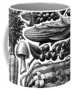 Farmer's Market - Bw Coffee Mug
