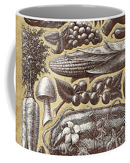Farmer's Market - Sepia Coffee Mug