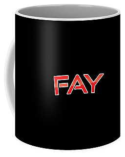 Coffee Mug featuring the digital art Fay by TintoDesigns