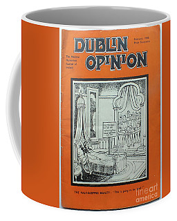 Coffee Mug featuring the painting Feb1948 Dublin Opinion by Val Byrne