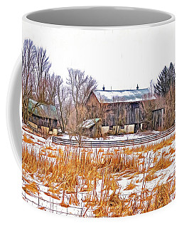 February Farm - Paint Coffee Mug