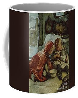Feeding The Lamb Coffee Mug