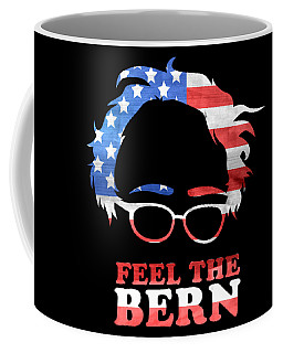 Feel The Bern Patriotic Coffee Mug