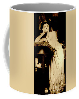 Female Model Wearing A Tiara, Paris, 1899  Coffee Mug