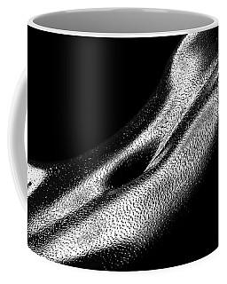 Female Oily Stomach Close-up Coffee Mug