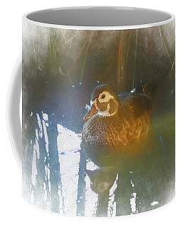 Female Wood Duck. Coffee Mug