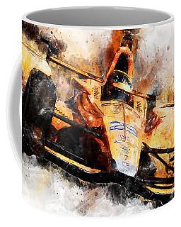 Fernando Alonso, Indy 500 - 04 Coffee Mug