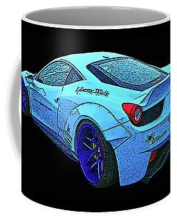Ferrari 458 Liberty Walk Coffee Mug