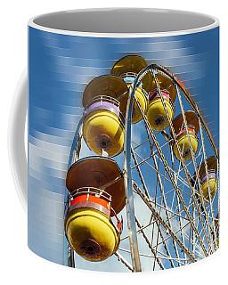 Ferris Wheel On Mosaic Blurred Background Coffee Mug